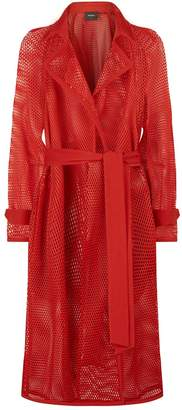 Akris Techno Grid Coat