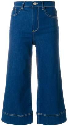 Alice + Olivia Alice+Olivia cropped flared jeans