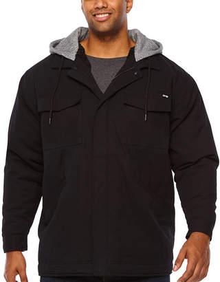 Zoo York Heavyweight Hooded Fleece Jacket - Big and Tall