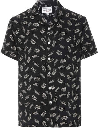 HVN M'O Exclusive Short Sleeve Tarzan Button Down