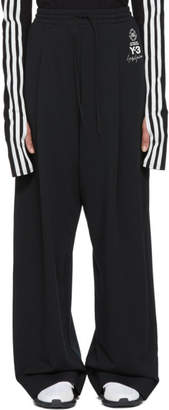 Y-3 Black Wide Lux Lounge Pants