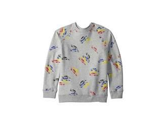 Stella McCartney Billy Long Sleeve All Over Cars Fleece Sweater (Toddler/Little Kids/Big Kids)