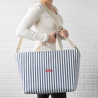 Cathy's Concepts CATHYS CONCEPTS Cathys Concepts Personalized Large Striped Cooler Tote