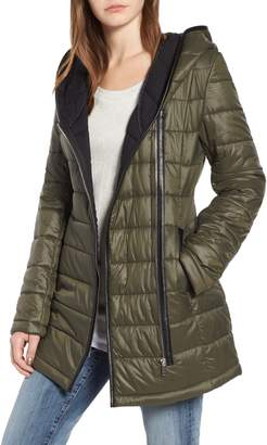 Sam Edelman Asymmetrical Quilted Jacket