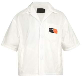 Prada Padded Short Sleeved Shirt - Mens - White