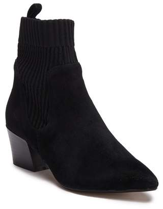Kensie Lylla Suede Knit Mid Boot