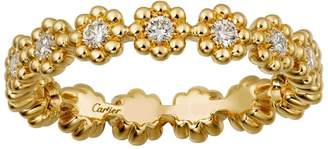 Cartier Yellow Gold Cactus de Wedding Band