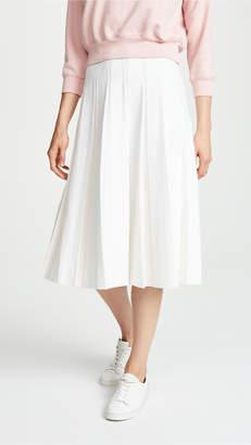 TSE Pleated Midi Skirt