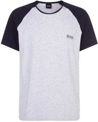 HUGO BOSS Raglan Sleeve Lounge T-Shirt