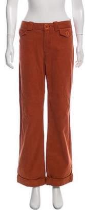 Marc Jacobs Corduroy Mid-Rise Pants