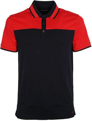 Michael Kors Color Block Polo Shirt
