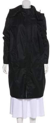 Helmut Lang Hooded Knee-Length Coat