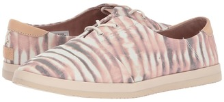 Reef - Pennington Print Women's Lace up casual Shoes $55 thestylecure.com