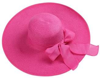 AERUSI Women's Hamptons Floppy Straw Hat