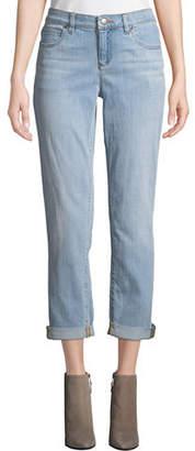 Eileen Fisher Stretch Boyfriend Jeans, Petite