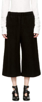Maison Margiela Black Cropped Casentino Trousers