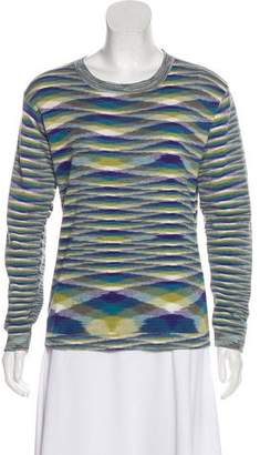 Missoni Long Sleeve Knit Top