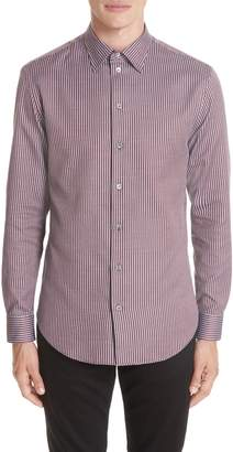 Emporio Armani Regular Fit Solid Sport Shirt