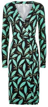 Diane von Furstenberg Julian Floral Wrap Dress
