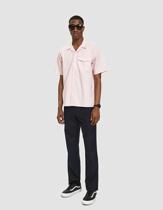 Carhartt Wip S/S Clover Shirt in Sandy Rose