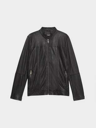 Donna Karan Donnakaran Leather Moto Jacket