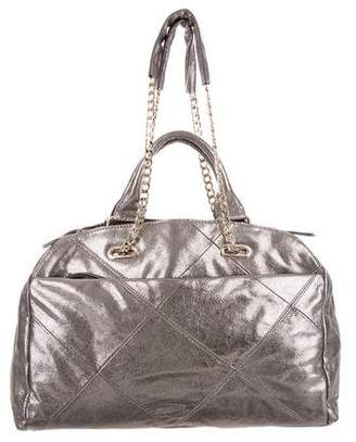 Ramy Brook Quilted Leather Satchel