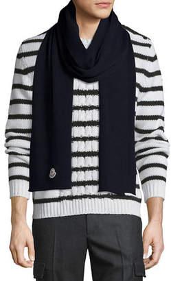 Moncler Men's Virgin Wool Scarf
