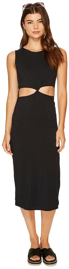 Roxy - May Blossom Cut Out Mid Length Bodycon Dress Women's Dress