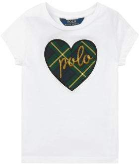Ralph Lauren Little Girl's & Girl's Heart T-Shirt
