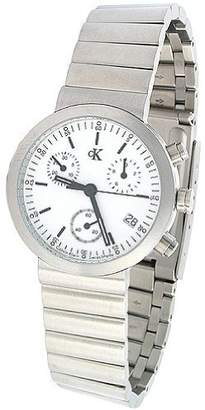 Calvin Klein Women's Tech K2191.12 Stainless-Steel Chronograph Watch with Dial