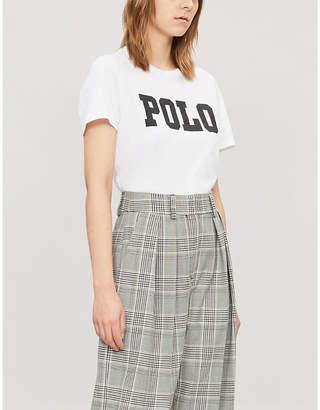 Polo Ralph Lauren Logo-print short-sleeved cotton T-shirt