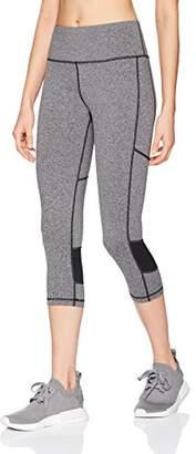 """Starter Women's 20"""" Capri Workout Legging Mesh"""