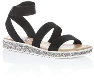 18d7fdc8ddbd Steve Madden Girls  JKimma Strappy Platform Sandals - Little Kid