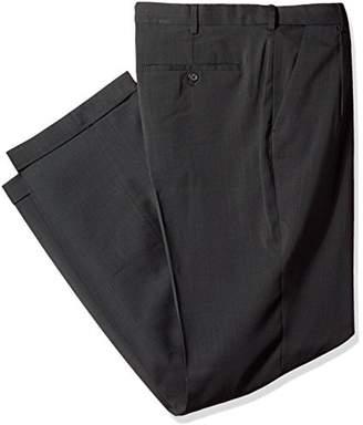 Van Heusen Men's Big Tall Traveler Stretch Pleated Dress Pant