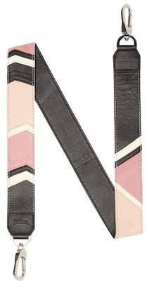 Longchamp Le Pliage Cuir Chevron Shoulder Strap