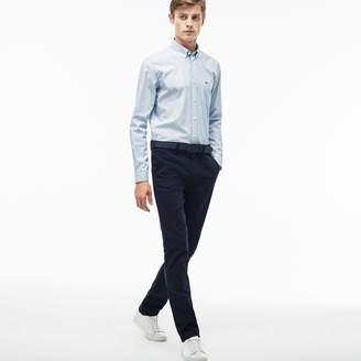 Lacoste Men's Slim Fit Stretch Cotton Pique Chino Pants