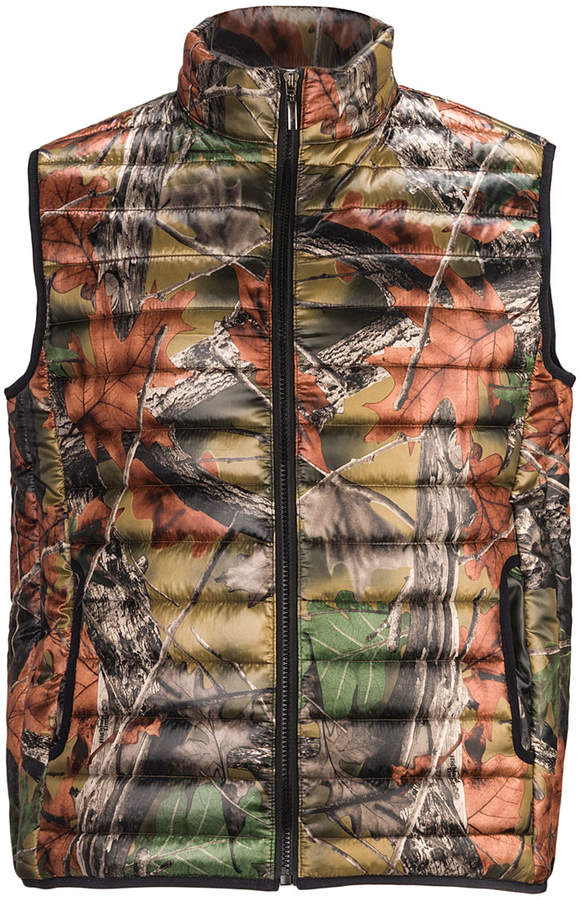 Camo Ultra-Thermic Puffer Vest - Men
