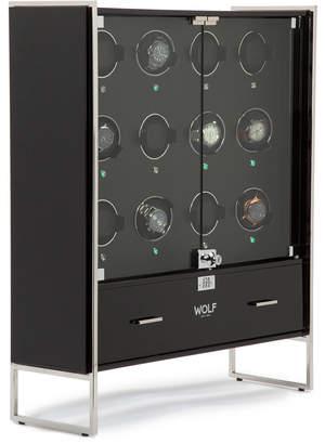 Wolf 1834 Regent 12-Piece Cabinet Watch Winder