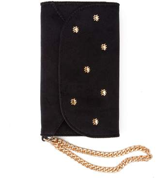 7 For All Mankind Sonix Velvet Wristlet iPhone Case in Black