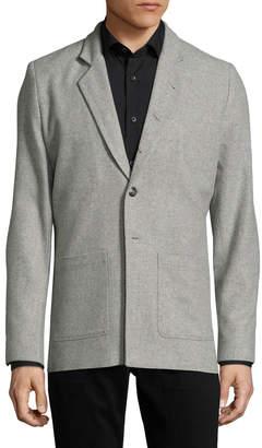 Lot 78 Lot78 Wool Spread Collar Blazer