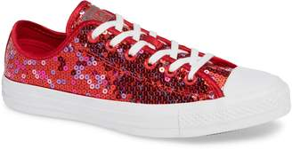 Converse Chuck Taylor(R) All Star(R) Sequin Low Top Sneaker