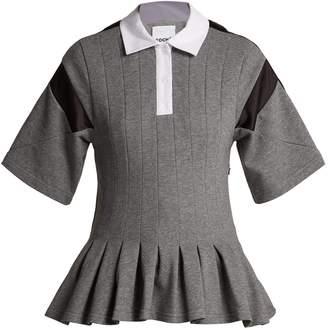 DAY Birger et Mikkelsen KOCHÉ Pleated short-sleeve polo shirt
