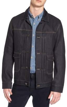 French Connection Workwear Slim Fit Denim Jacket