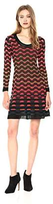M Missoni Women's Greek Open Knit Dress