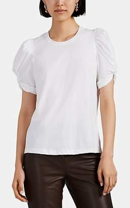 A.L.C. Women's Kati Cotton Puff-Sleeve Top - White