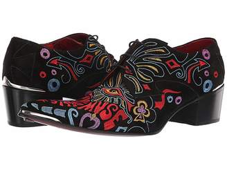 Jeffery West Sylvian Psychedelic Muse Embroidered Gibson Shoe