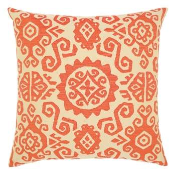 Coral Sun Indoor/Outdoor Accent Pillow