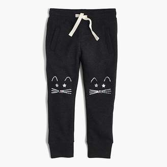 J.Crew Girls' sweatpants with kitten knees