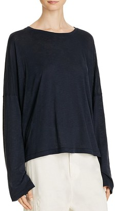 Vince Relaxed Dropped Shoulder Tee $95 thestylecure.com