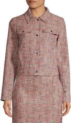 HUGO Aiasa Tweed Cropped Jacket